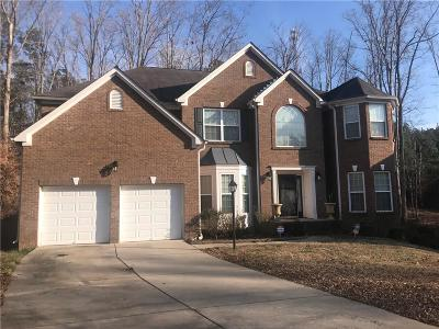 Fairburn Single Family Home For Sale: 7627 Waterlace Drive
