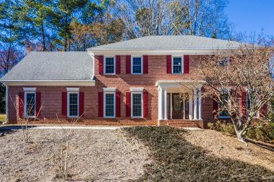 Dunwoody Single Family Home For Sale: 5474 Mount Vernon Way