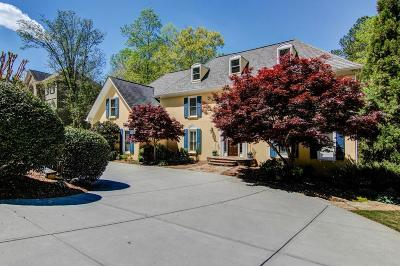 Sandy Springs Single Family Home For Sale: 8450 Valemont Drive
