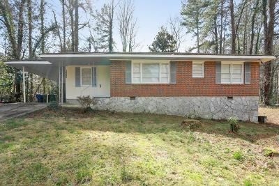 Atlanta Single Family Home For Sale: 3660 Hill Acres Road SW