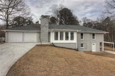 Smyrna Single Family Home For Sale: 572 N Thomas Lane SE