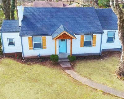 Atlanta Single Family Home For Sale: 1611 Belmont Avenue SW