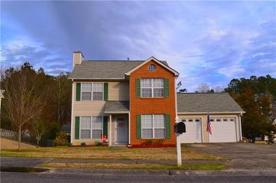 Acworth Single Family Home For Sale: 3856 Rivers Run Trace NW