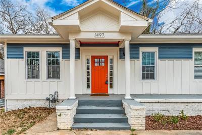 Atlanta Single Family Home For Sale: 1497 Rogers Avenue SW