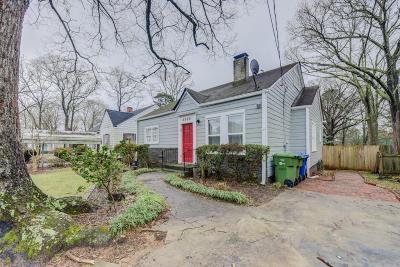 Atlanta Single Family Home For Sale: 2559 Knox Street NE