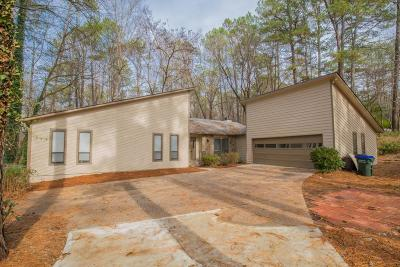 Roswell Single Family Home For Sale: 8995 Martin Road