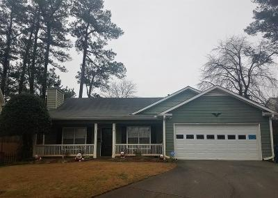 Lawrenceville Single Family Home For Sale: 852 New England Court