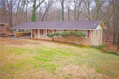 Douglasville Single Family Home For Sale: 5515 Richland Drive