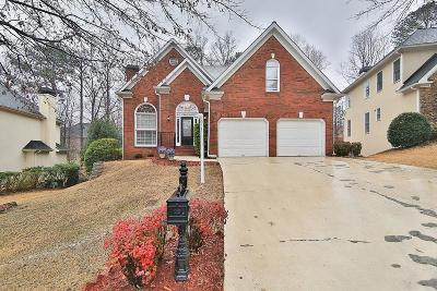 Roswell Single Family Home For Sale: 8450 Edwarton Drive