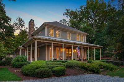 Roswell Single Family Home For Sale: 1 Granberry Manor