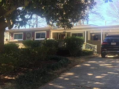 Dekalb County Single Family Home For Sale: 2618 Brook Park Way