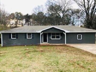 Powder Springs Single Family Home For Sale: 3254 Hopkins Road