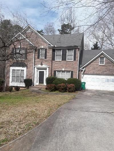 Stone Mountain Single Family Home For Sale: 7424 Harbor Cove Court