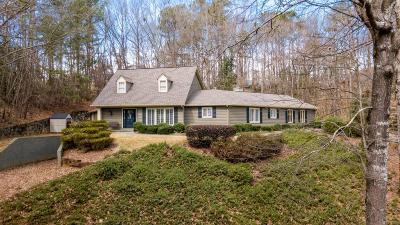 Sandy Springs Single Family Home For Sale: 125 Jett Forest Court