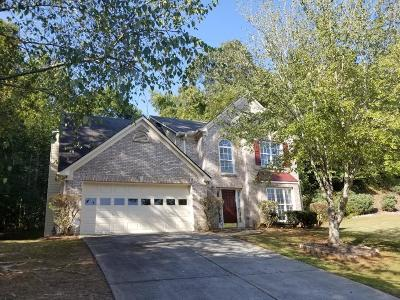Suwanee Single Family Home For Sale: 1607 Andrew Hills Court