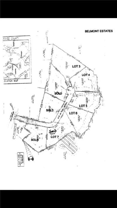 Canton Residential Lots & Land For Sale: 110 Belmont Drive