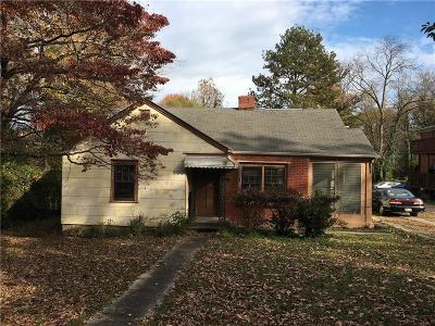 Atlanta Single Family Home For Sale: 3566 Jackson Street