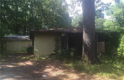 Atlanta Single Family Home For Sale: 3720 Butner Road