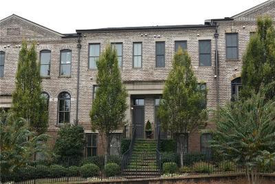 Atlanta Condo/Townhouse For Sale: 3548 Roswell Road #3548