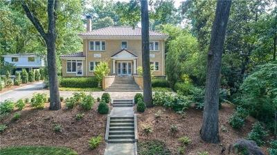 Atlanta Single Family Home For Sale: 1945 Ponce De Leon Avenue NE