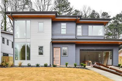 Atlanta Single Family Home For Sale: 1071 Shepherds Lane NE #24