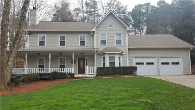 Cobb County Single Family Home For Sale: 3718 Running Fox Drive