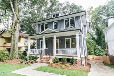 Atlanta Single Family Home For Sale: 740 Amsterdam Avenue NE