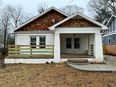 Atlanta Single Family Home For Sale: 1517 Sylvan Road SW
