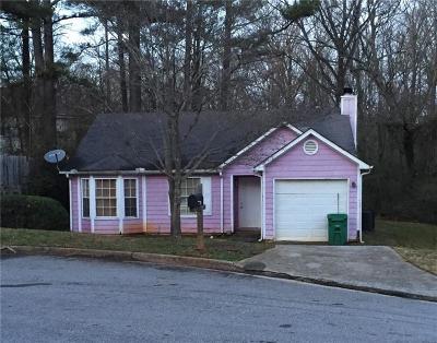 Dekalb County Single Family Home For Sale: 3074 Springside Crossing