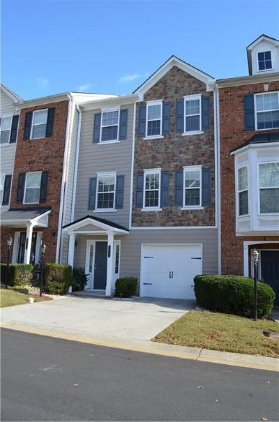 Kennesaw Condo/Townhouse For Sale: 318 Plaza Park Walk #318