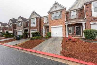 Kennesaw Condo/Townhouse For Sale: 2343 Heritage Park Circle NW