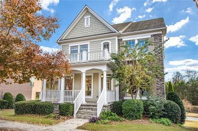 Suwanee Single Family Home For Sale: 3741 Portland Trail Drive
