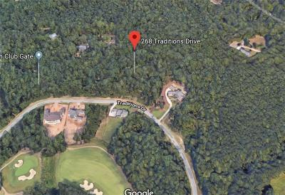Alpharetta Residential Lots & Land For Sale: 268 Traditions Drive