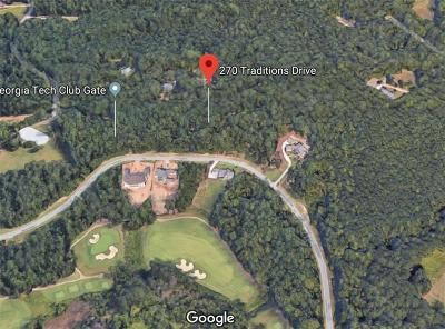 Alpharetta Residential Lots & Land For Sale: 270 Traditions Drive