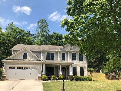 Suwanee Single Family Home For Sale: 3864 Park Castle Court