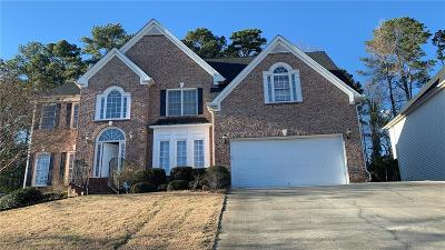 Lilburn Single Family Home For Sale: 4501 Weston Drive SW