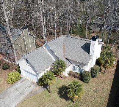 Powder Springs Single Family Home For Sale: 3308 Hillside Drive