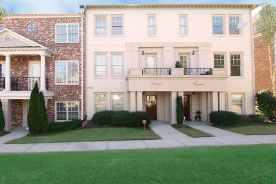 Brookhaven Condo/Townhouse For Sale: 1856 Preserve Way