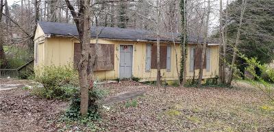 Union City Single Family Home For Sale: 6315 Gresham Street