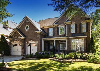 Alpharetta Single Family Home For Sale: 12835 Wyngate Trail