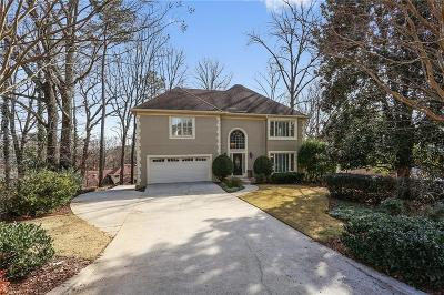 Dunwoody Single Family Home For Sale: 1723 Brandywine Court