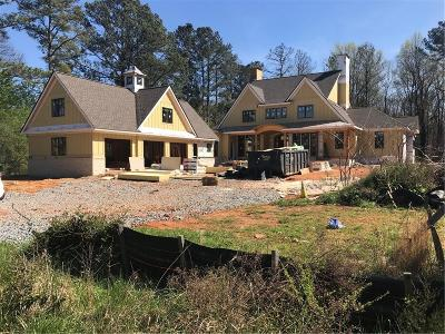 Roswell Single Family Home For Sale: 500 Jones Road