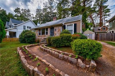 Decatur Single Family Home For Sale: 1027 S Candler Street