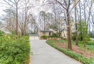Sandy Springs Single Family Home For Sale: 4775 Lafayette Court