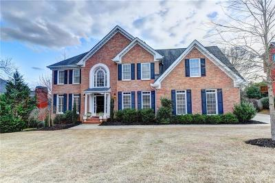 Alpharetta Single Family Home For Sale: 3430 Sugar Valley Trail