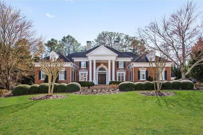 Johns Creek Single Family Home For Sale: 4075 Merriweather Woods