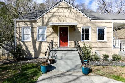 East Atlanta Single Family Home For Sale: 1276 Eastland Road Southeast