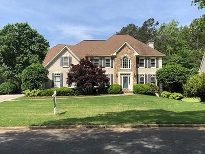 Powder Springs Single Family Home For Sale: 819 Weeping Willow Drive NW