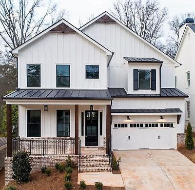 Sandy Springs Single Family Home For Sale: 70 West Belle Isle