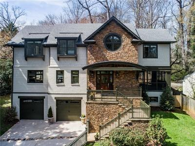 Atlanta Single Family Home For Sale: 1265 McLynn Avenue NE
